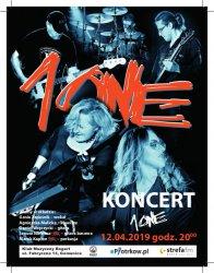1ONE w Klubie Muzycznym Bogart w Gomunicach