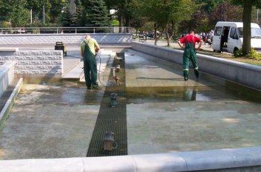 Piotrków: Fontanna w parku wyłączona