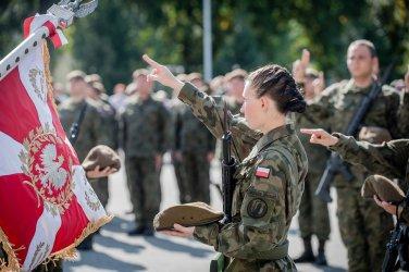 Terytorialsi otrzymali Chorągiew Wojska Polskiego