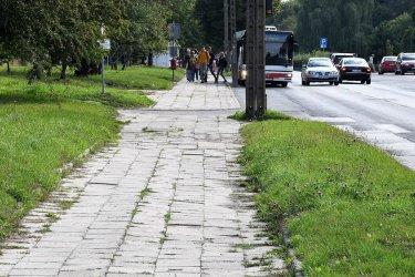 Ścieżkę rowerową na Dmowskiego wybuduje firma z Piotrkowa