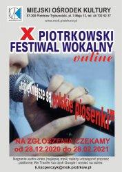 Ostatnie dni na zgłoszenie do X Festiwalu Wokalnego