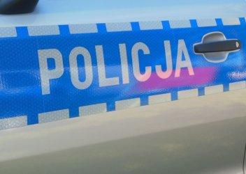 Agresywny mąż powstrzymany przez policjantów