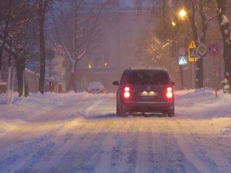 Na drogach biało i ślisko