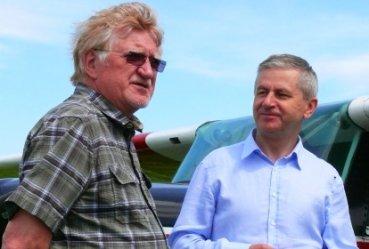 Prezes Aeroklubu Polskiego z wizytą w Piotrkowie