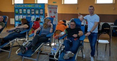 Oddali ponad 20 litrów krwi dla poszkodowanej w wypadku
