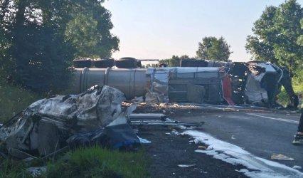 Siedem osób rannych w wypadku w Poniatowie