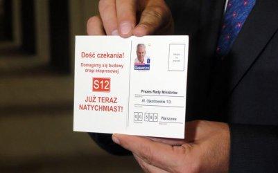 Koalicja Obywatelska robi swoją akcję S12 Natychmiast?