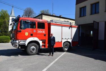 Trzeci nowy samochód strażacki w gminie Czarnocin
