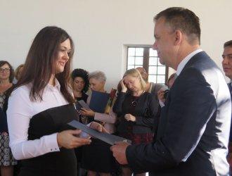 Piotrkowscy nauczyciele odebrali wyróżnienia