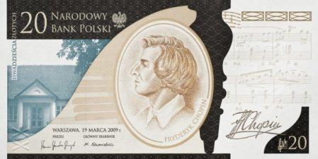 Konkurs Strefy FM i NBP: Banknoty z Chopinem