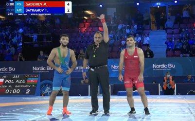 Murad wystąpi w finale mistrzostw świata!