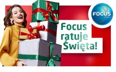 Centra ratują święta! 7 powodów, by wybrać świąteczne zakupy w Focus Mall