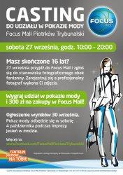 Zostań gwiazdą wybiegów Focus Mall