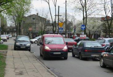 Objazd Ronda Sulejowskiego. Omijajcie osiedlowe uliczki!