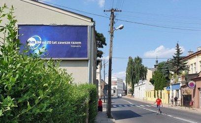 TVN24 na billboardach polskich miast. Także w Piotrkowie