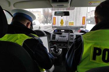 Finansowane przez miasto patrole policji kontrolują kierowców