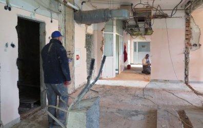Trwa remont OIOM-u w szpitalu przy Rakowskiej