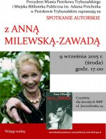 Spotkanie autorskie z Anną Milewską