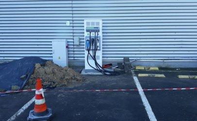 Powstaje stacja do ładowania samochodów elektrycznych