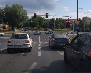 Skrzyżowanie Kostromska – Sikorskiego. Jest problem czy go nie ma?