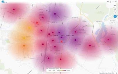 Bardzo zła jakość powietrza w Piotrkowie