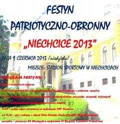 Festyn Patriotyczno-Obronny w Niechcicach
