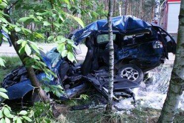 pow. tomaszowski: Tragiczny wypadek na drodze