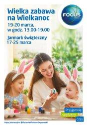 Wielka zabawa na Wielkanoc w galerii Focus Mall