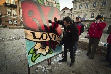 Piotrków: Zakochani w sztuce w Rynku
