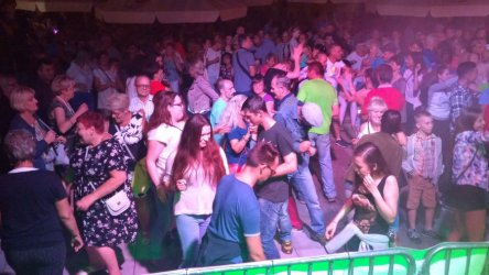 Rail i radiowcy rozbawili publiczność na Biesiadzie Trybunalskiej
