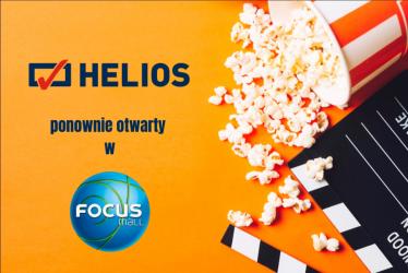 3…2…1… Akcja! Kino Helios znów otwarte!
