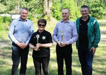 Gmina Grabica: Spotkali się na strzelnicy