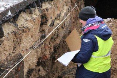 Archeologiczne odkrycie podczas prac przy kanalizacji