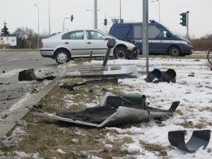 Poważna kolizja w Piotrkowie (AKTUALIZACJA)