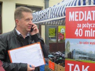 Radny pyta mieszkańców o mediatekę