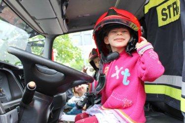 Najmłodsi mogli poczuć się jak policjant, strażak lub ratownik medyczny