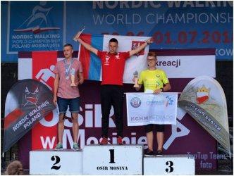 Jakub Deląg mistrzem świata w Nordic Walking