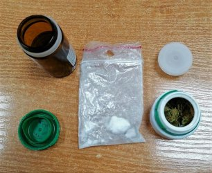 43-latek odpowie za posiadanie narkotyków