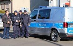 Nowy radiowóz dla policjantów z komisariatu w Grabicy