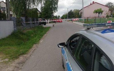 Tragiczny wypadek w Zalesicach. Motocyklista zginął na miejscu