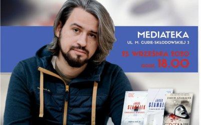 Jakub Szamałek kolejnym gościem mediateki