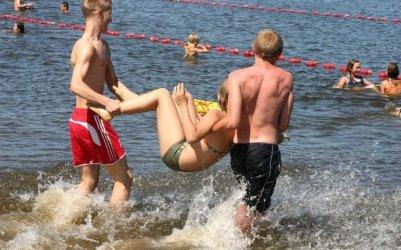 Tymczasowy zakaz kąpieli w piotrkowskim Słoneczku