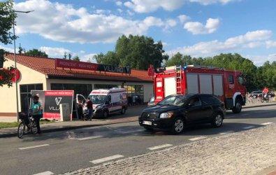 Wypadek na Śląskiej. Ranny motocyklista