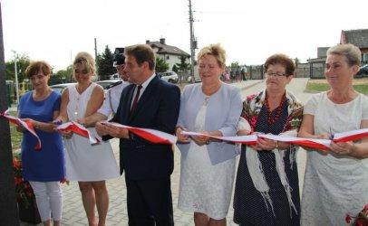 Gmina Wola Krzysztoporska: Dom Ludowy w Blizinie przebudowany i rozbudowany