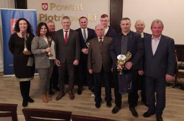 Gmina Wola Krzysztoporska: Wyróżnienia dla najlepszych sportowców powiatu