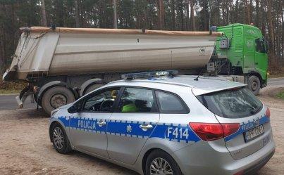 Sprawdzali ciężarówki w Piotrkowie i powiecie. Posypały się mandaty