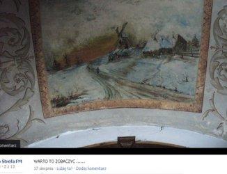 Malowidłami na suficie nikt się nie interesuje