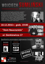 Wojciech Sumliński przyjedzie do Piotrkowa