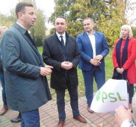 Kosiniak – Kamysz w Piotrkowie: Liczymy na wynik dwucyfrowy
