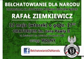 Będzie spotkanie z Rafałem Ziemkiewiczem